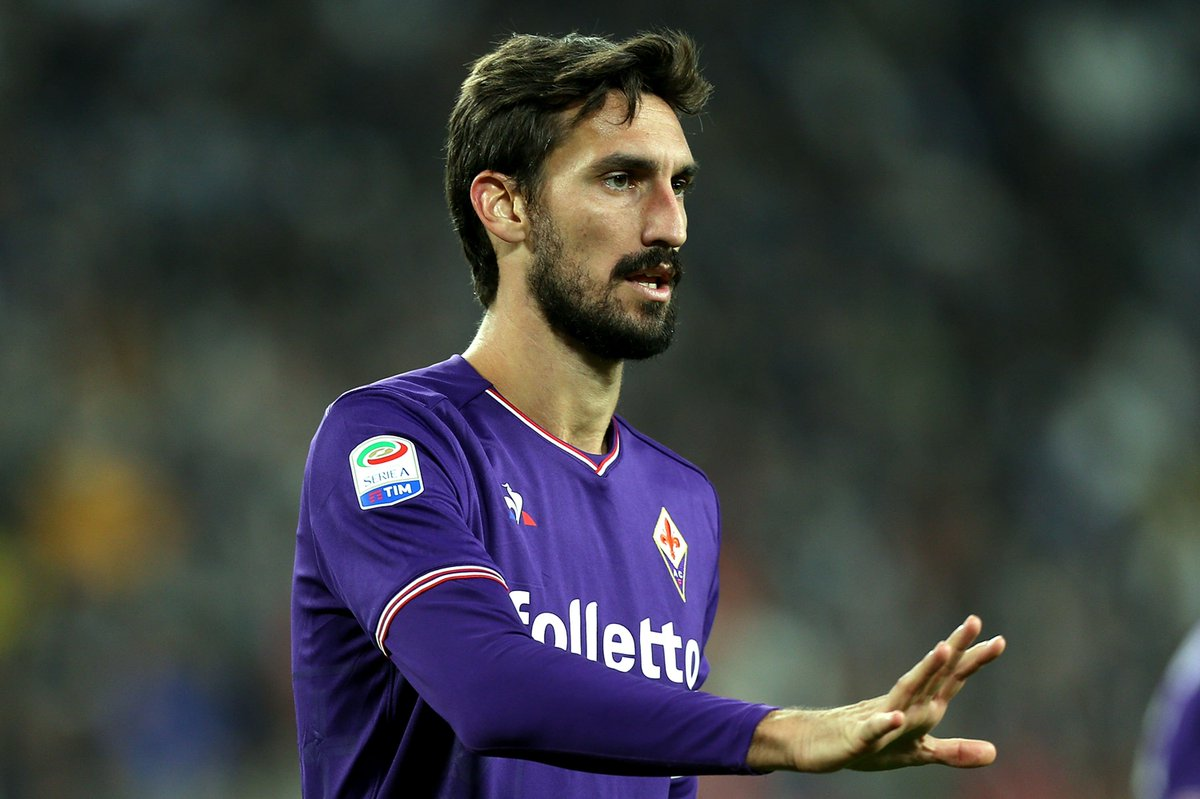 Fiorentina Captain Davide Astori Found Dead In Team's Hotel