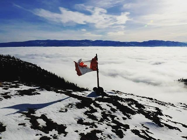 test Twitter Media - Top of the world (on Carrot Mountain). 📷 :  @dave.dyck. Thanks for making the trek up, capturing this photo and sharing it with us! #VisitWestside #WestKelowna #WinterHikes #Mountaintop . . . #ExploreBC #Kelownanow #Route97 #Okanganlife #Pnwwonderlan… https://t.co/yRqBOkGzJv https://t.co/lEVsOjkbeF