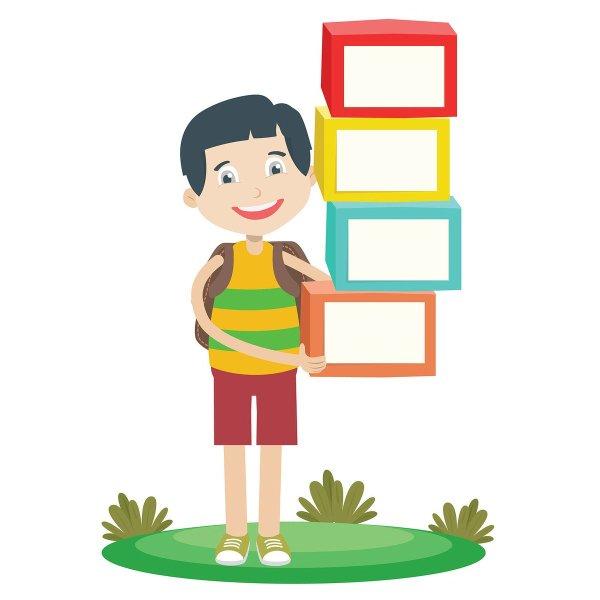 "Kidaha Twitter ""kid And Boxes #box #kid #boy #school"