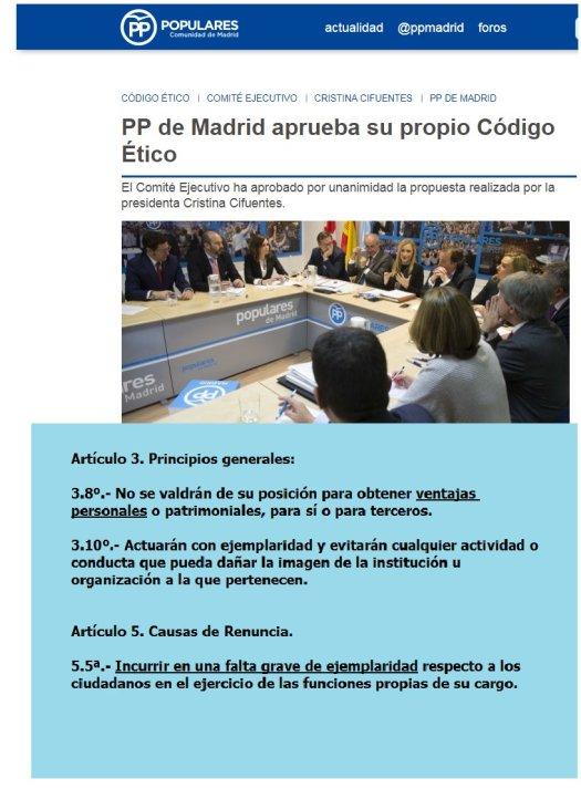 """test Twitter Media - El Partido Popular de Madrid aplicó su código """"ético"""" al alcalde de Brunete. ¿Lo hará con Cristina Cifuentes? https://t.co/B1Mgkci1AI"""