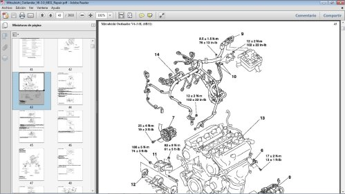small resolution of dodge 3 0 engine diagram wiring librarymitsubishi 3 0 engine diagram heater complete wiring diagrams