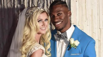 RG3 And Grete Sadeiko Marry In Miami