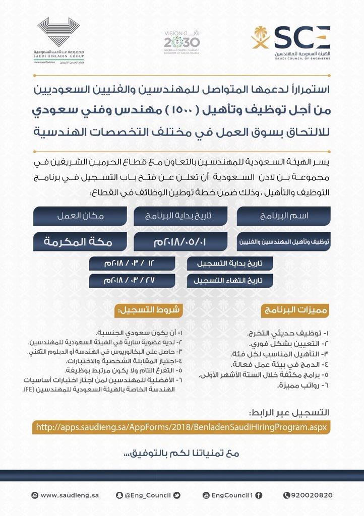 طريقة التسجيل في الهيئة السعودية للمهندسين موسوعة نت