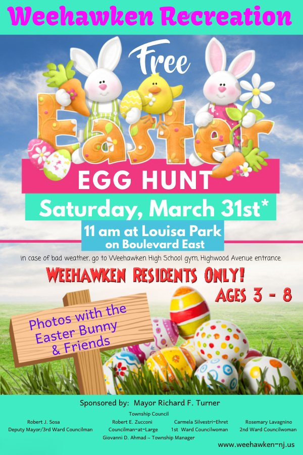 Image result for weehawken easter egg hunt