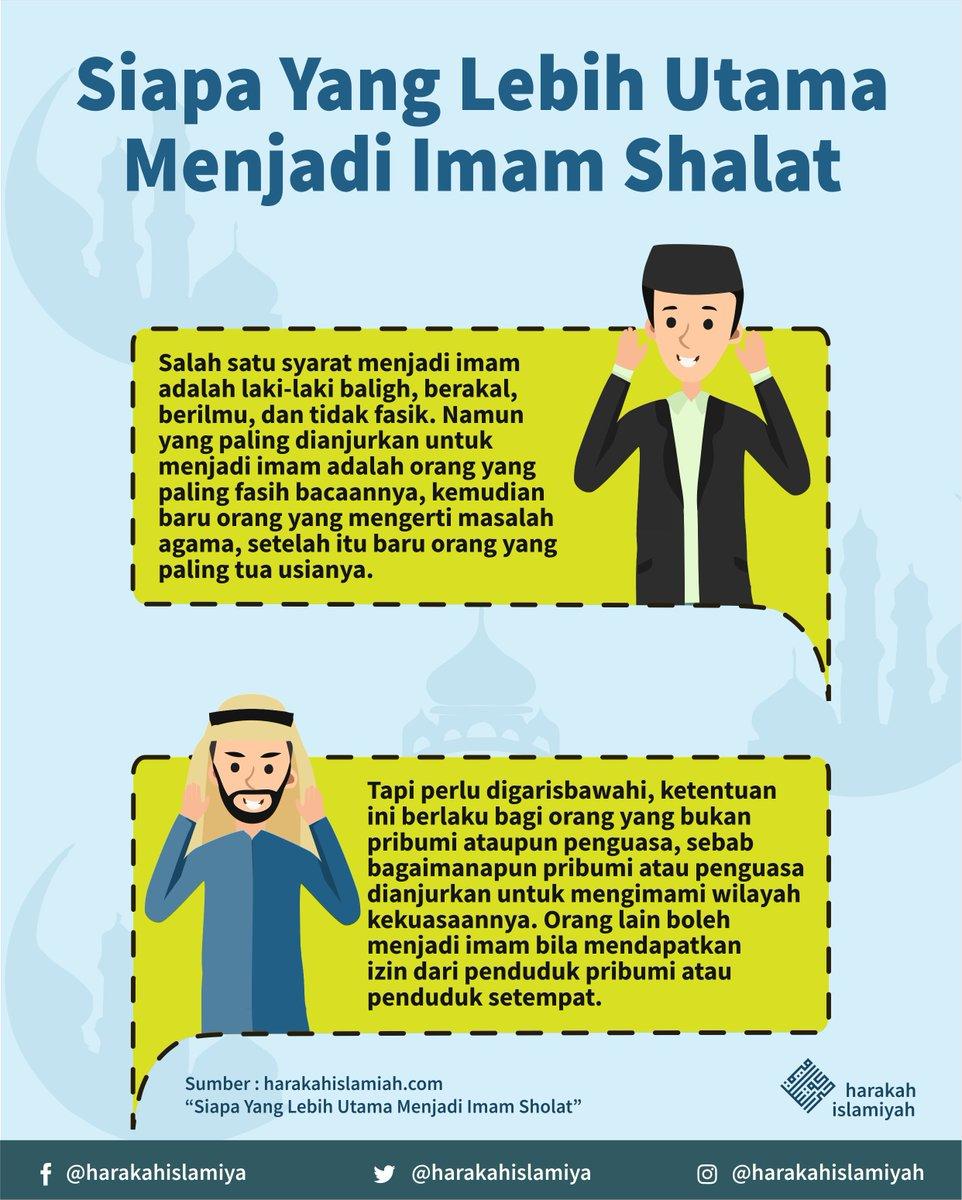"""Syarat Sah Imam : syarat, Uživatel, Harakah.ID, Twitteru:, """"Siapa, Lebih, Utama, Menjadi, Shalat?, #imam, #shalat, #berjamaah, #shalatberjamaah, #jamaah, #harakahislamiyah, #harkis…, Https://t.co/9ACSgGquCc"""""""