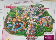 "Salon Mickey Twitter "" Park Map Launched"