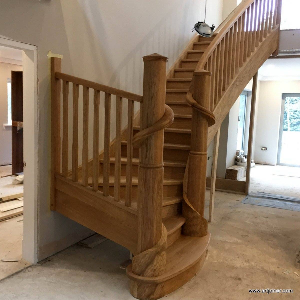 Artjoiner Carpentry On Twitter A New Set Of Stair Frank Lloyd | Frank Lloyd Wright Stairs | Exterior | Farmhouse | Gordon Strong | Bedroom | Wife