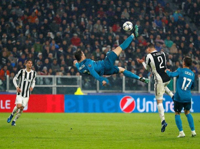 Gol de Chilena de Cristiano Ronaldo