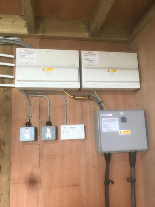 small resolution of separate plant room for solar pv controls and ground source heating within the house thebrightsparkelectricalservicespic twitter com pvrkt54qkz