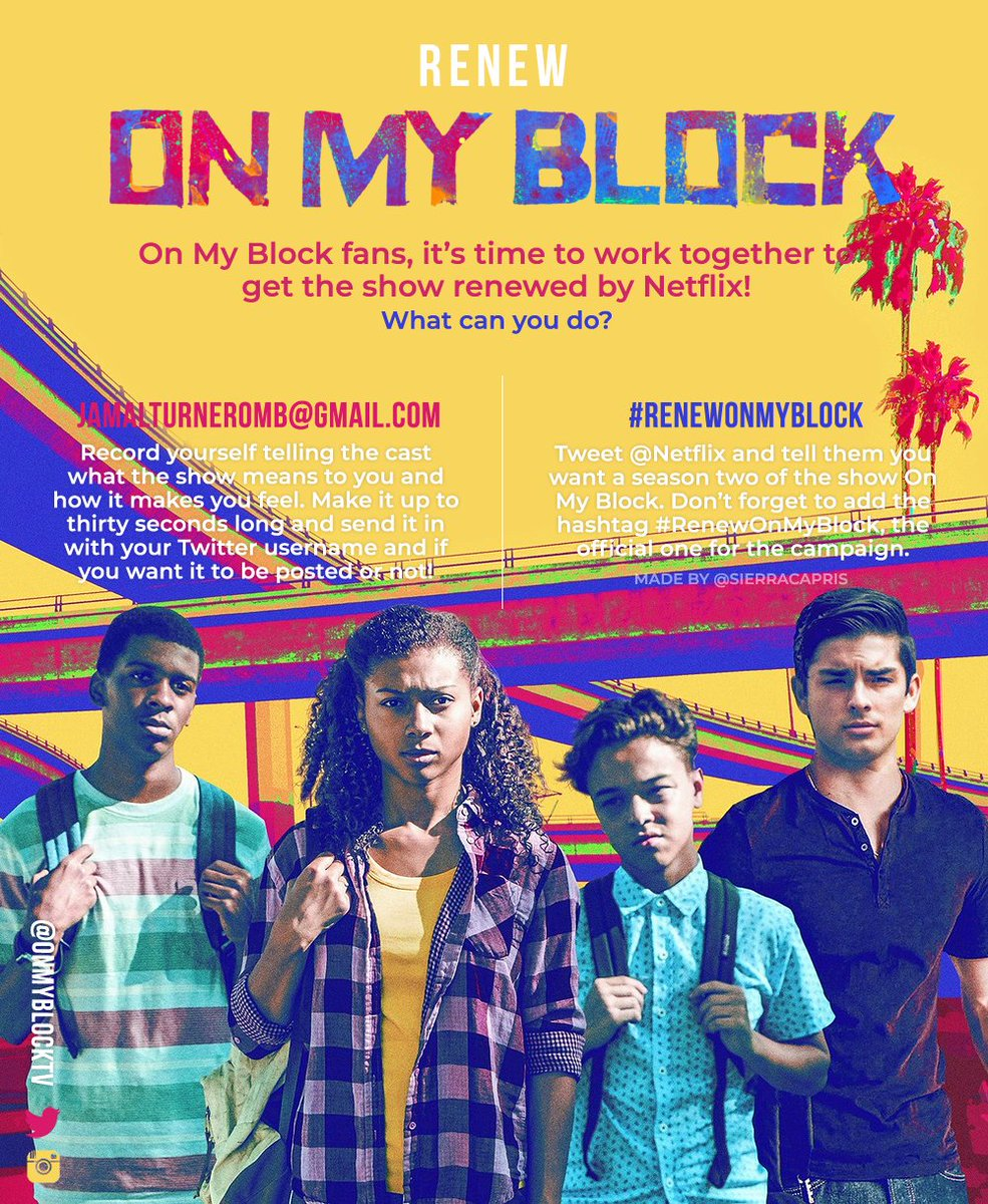 On My Block Saison 1 : block, saison, Block, Twitter:,