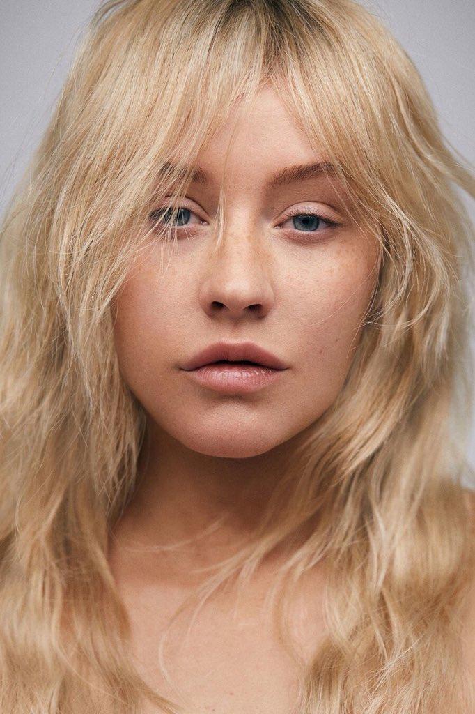 Christina Aguilera en la revista Paper.