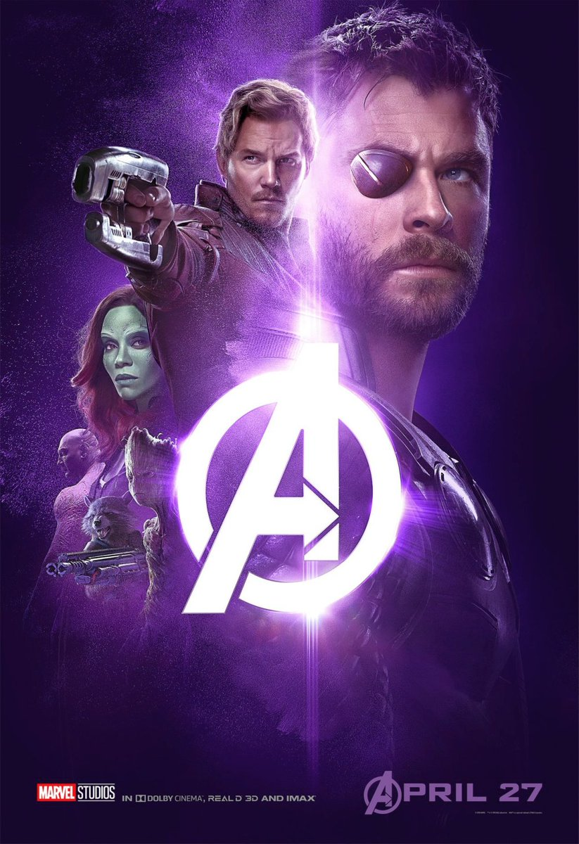 Avengers: Infinity War Character Poster