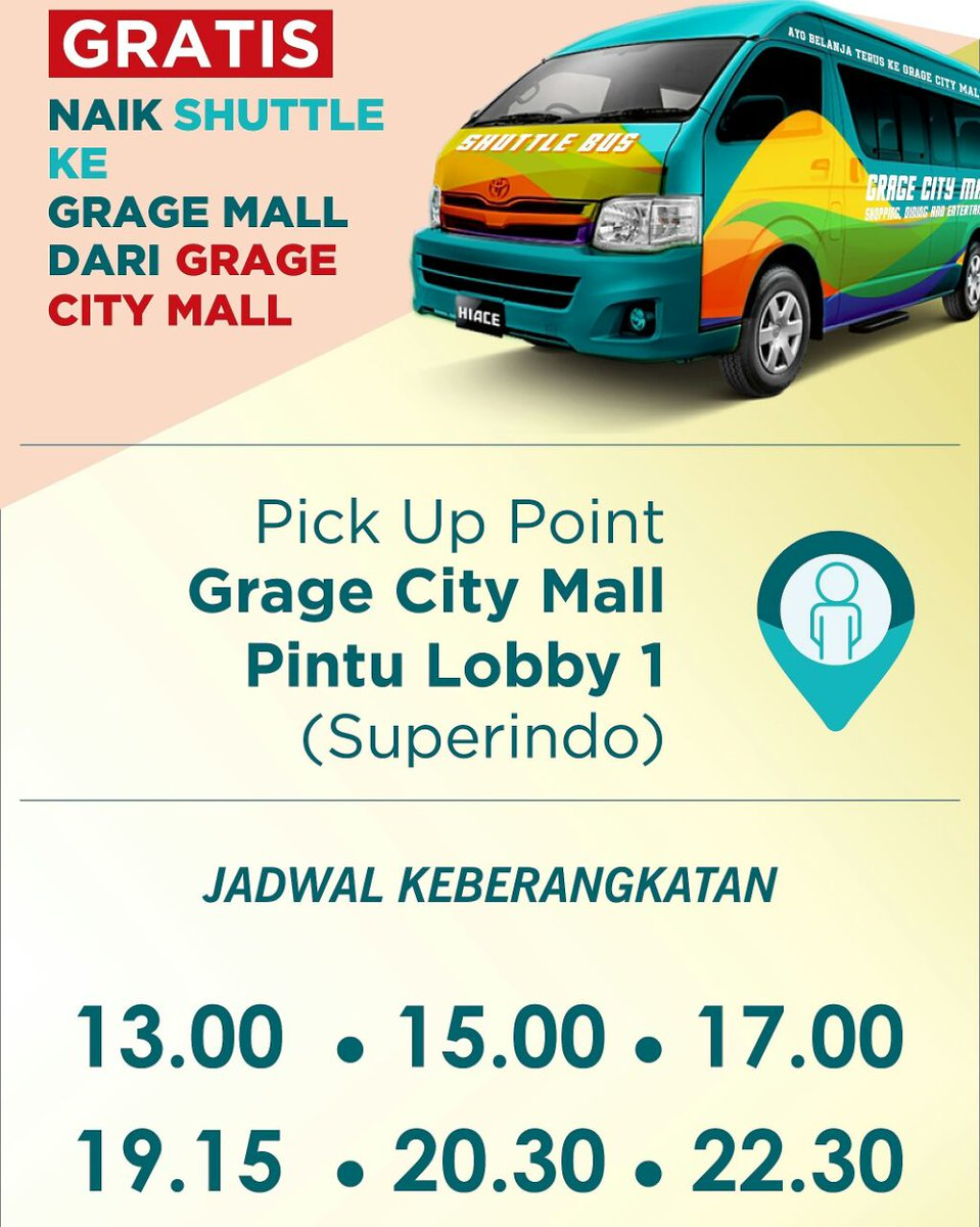 Jadwal Blitz Cirebon : jadwal, blitz, cirebon, Gragecitymall, Hashtag, Twitter