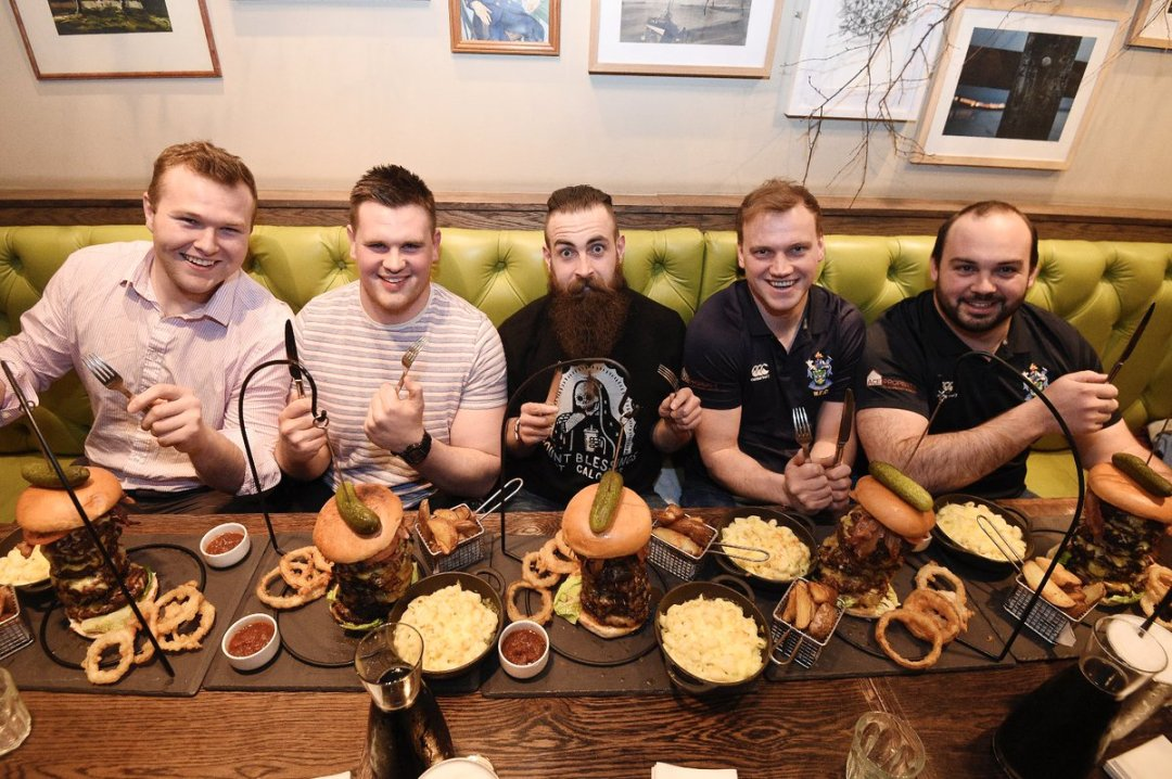 Image result for Montpelier Bruntsfield Monster Burger Challenge