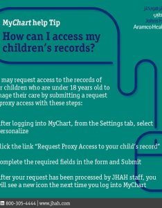 am mar also jhah on twitter how to gain access your child   mychart rh