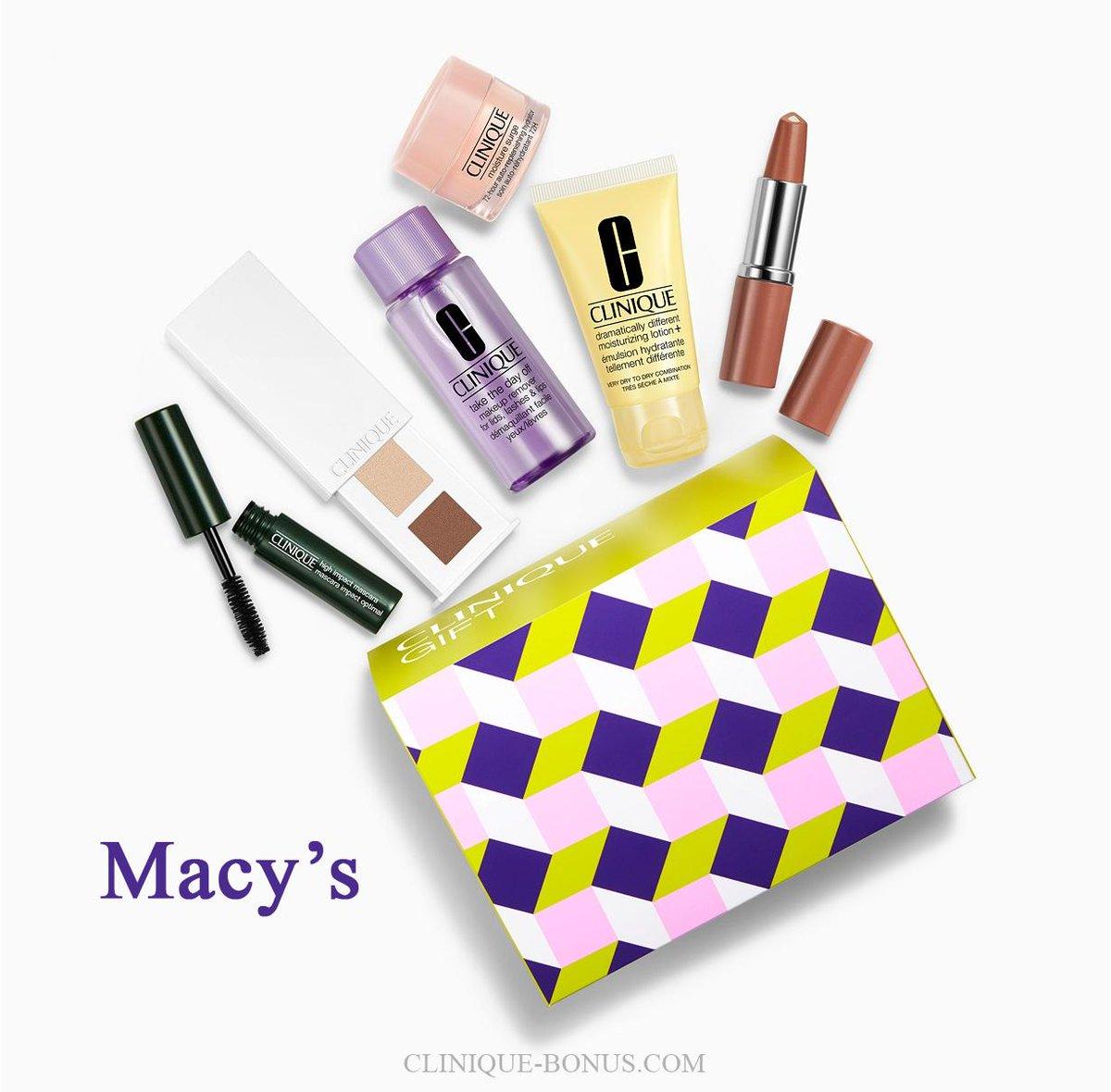 cosmetics bonus time clinique