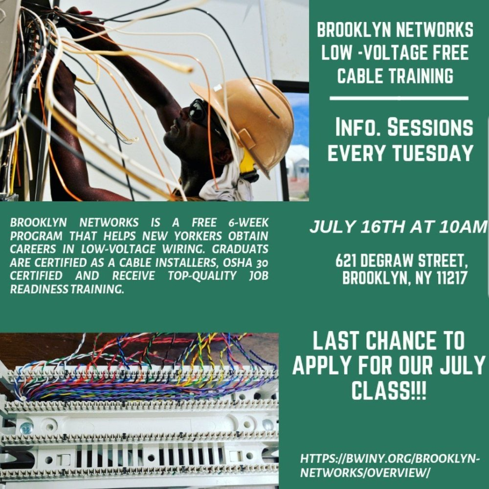 medium resolution of  training teaches you to install wiring for telephone and internet join us at our final info session on tuesday 7 16 at 10am to launch your career