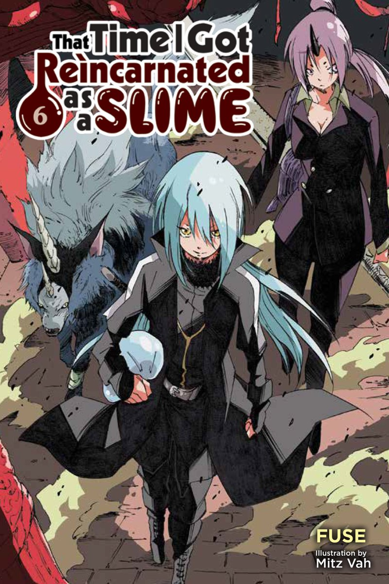 Demon Lord Rimuru : demon, rimuru, Press, على, تويتر:, Newly, Minted, Demon, Rimuru, Takes, Cover, Reincarnated, Slime!, Pre-orders, #lightnovel, Volume, Available