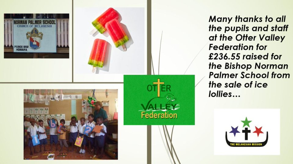 Many thanks to the school children in Tipton St John & Feniton who have been keeping cool with ice lollies & raising money for their…
