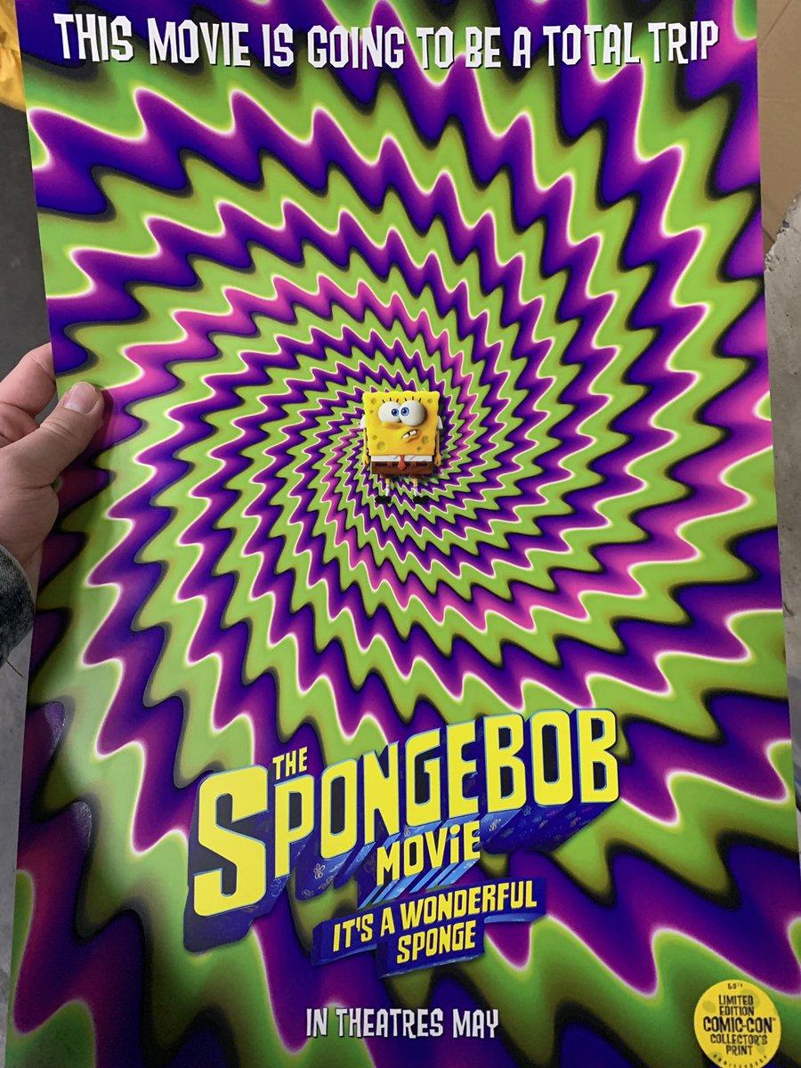 The Spongebob Movie It's A Wonderful Sponge : spongebob, movie, wonderful, sponge, Twitter:,