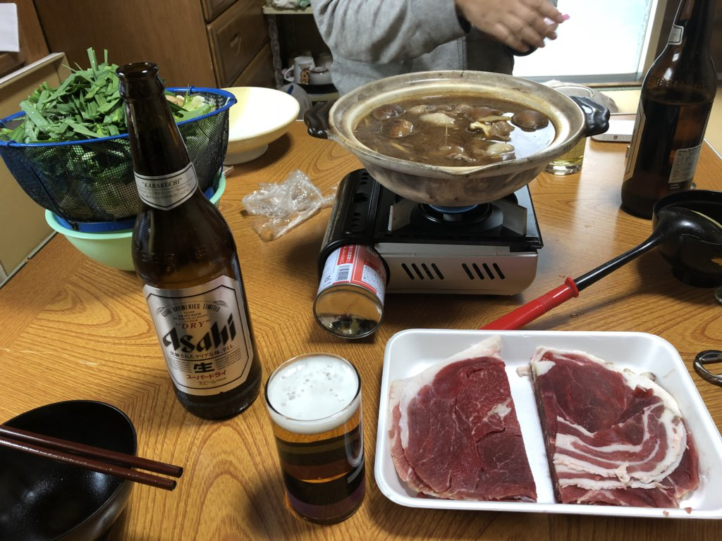 test ツイッターメディア - #桜花賞昼からボタン鍋食べながら桜花賞みるぞー!! https://t.co/VuE1XrpJrP