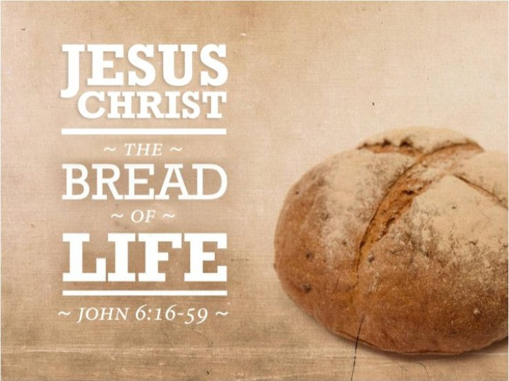 """James Martin, SJ on Twitter: """"Gospel: What does it mean that Jesus is the  """"Bread of Life""""? 1) Like bread, a staple food in his day, Jesus is  essential. 2) His word"""