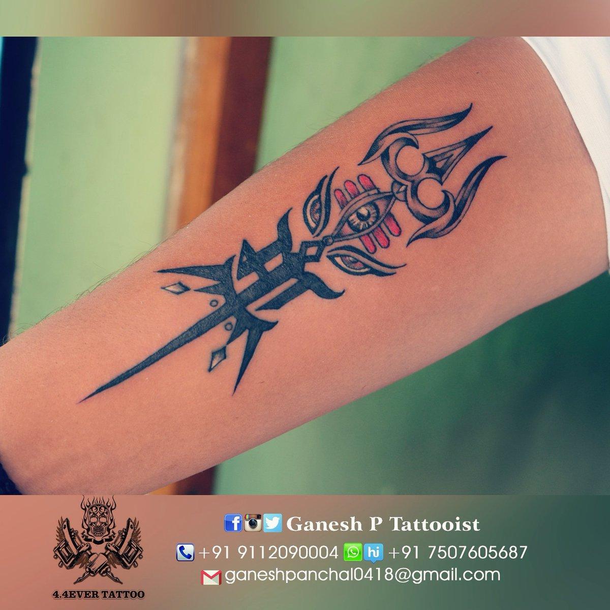 Mahakal Tattoo Image