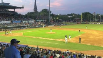More People Showed Up To Watch The Marlins Double-A Team – The Jacksonville Jumbo Shrimp – Than The Actual Marlins Last Night