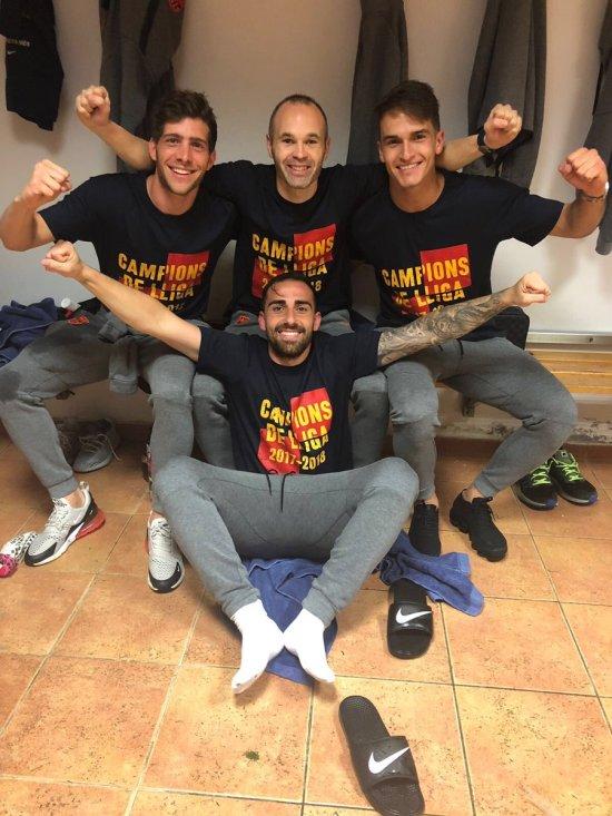 Camiseta campeón Liga FC Barcelona