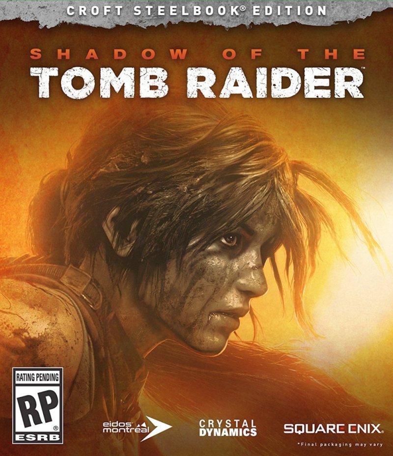 Shadow of the Tomb Raider Croft SteelBook Edition