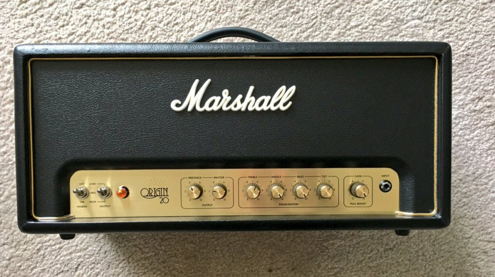 medium resolution of last weekend i picked up one of the brand new marshall origin amps from the friendly folks at astrings co uk one week in how am i getting on with it