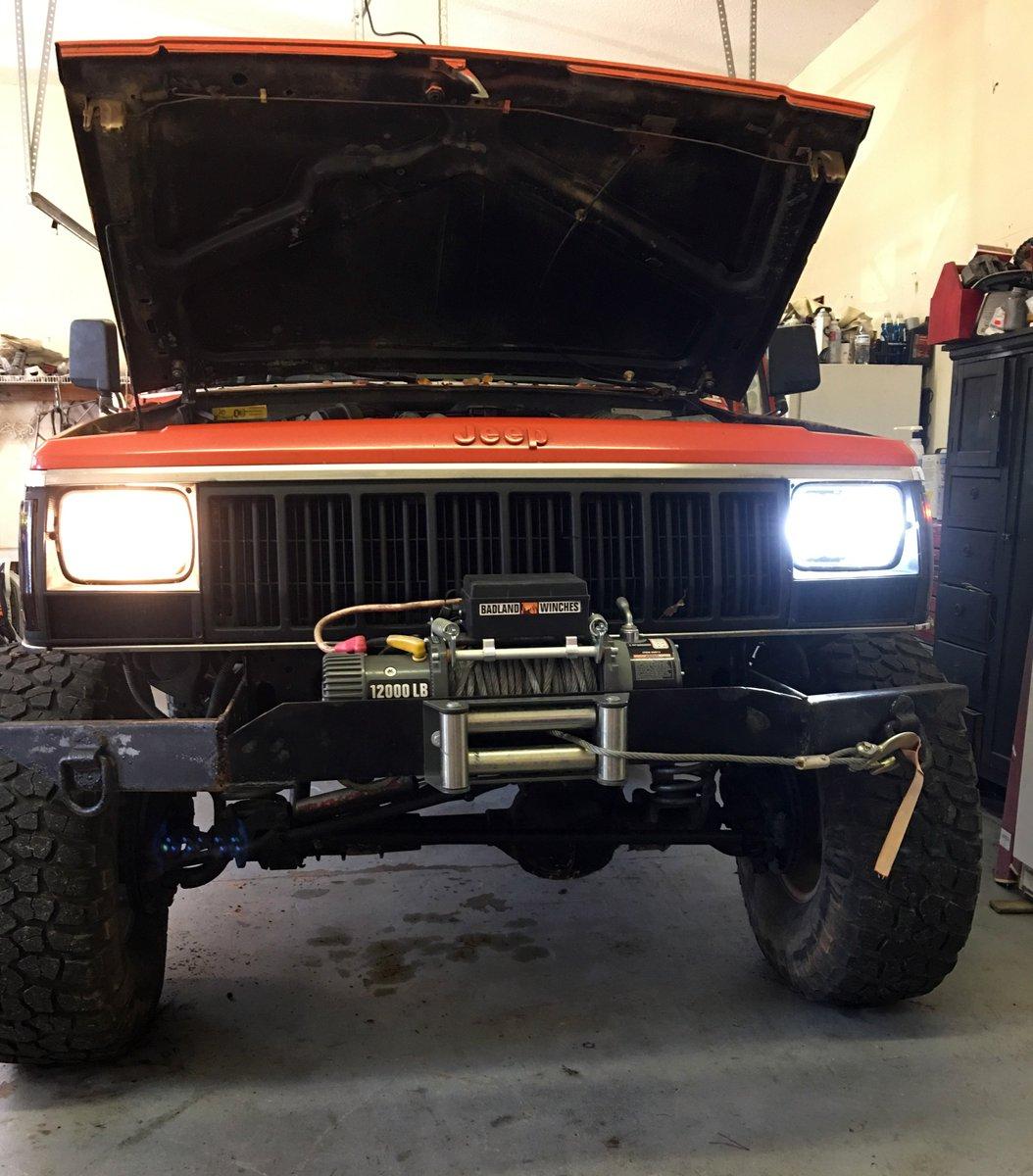 hight resolution of genssi on twitter headlight upgrades for jeep xj jeep yj semi trucks ford super duty trucks https t co ki9rhkgrwm genssi ledheadlights ihc