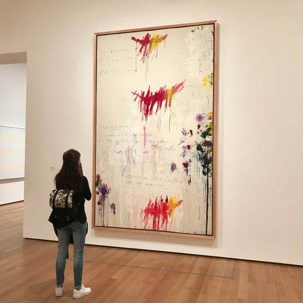 "Moma Museum Of Modern Art Twitter ""spring Four Paintings Cy Twombly Evoking"
