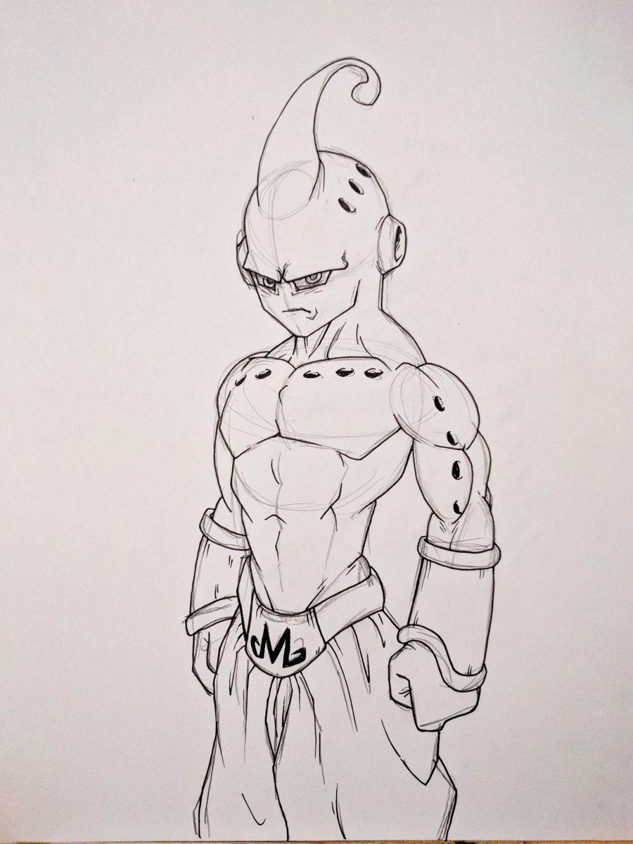 Kid Buu Drawing : drawing, Tom-is-love, Twitter:, Quick, Piece, Night., Broly, Markers, Marker, Drawing, Done)…, Https://t.co/Ie5VznllBy