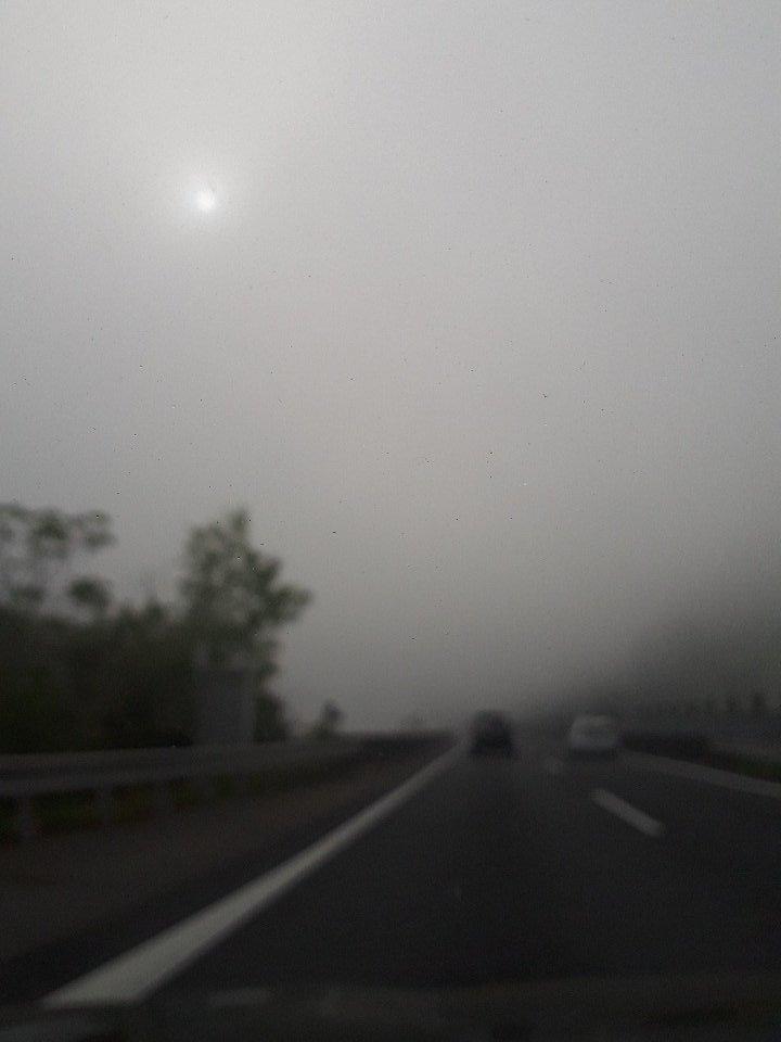 test ツイッターメディア - 今朝の山陽道は霧の中。 https://t.co/8zGKCSeIa1