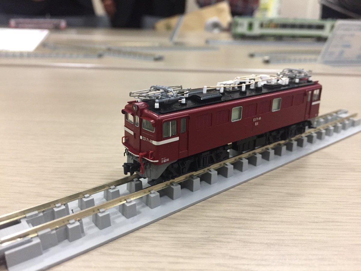test ツイッターメディア - (間もなく発売)3087-2 ED71 2次形 予価¥7200 ク5000の東北本線牽引機は交流車ED71形はいかがでしょう。 KATOナックルカプラーに交換した姿も撮影しております。#KATO https://t.co/LDJuMsRLMa