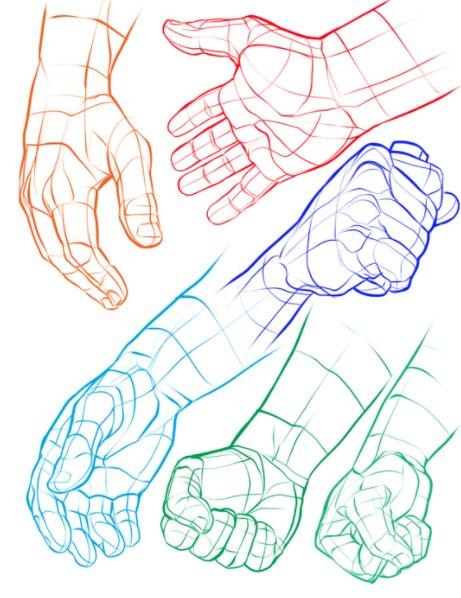 Hand Grip Drawing : drawing, PoseMuse, Twitter:,