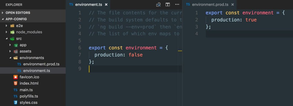 How to set up compile-time and runtime configuration for #angular apps  @juristr