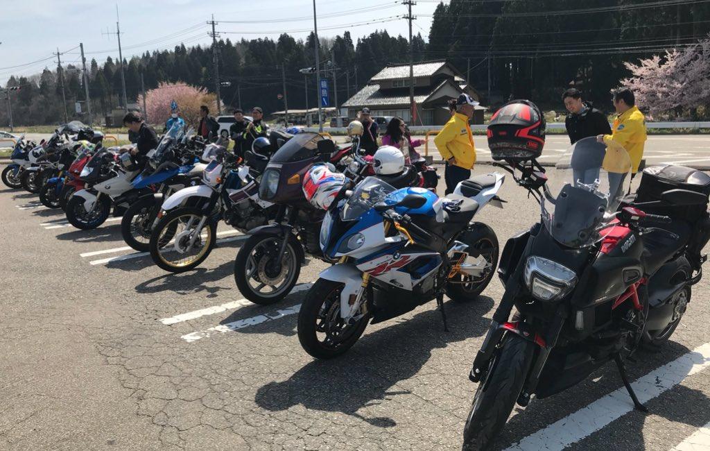 test ツイッターメディア - 北陸で1番BMWやDUCATIが集まった日。次回のツーリングは5月20日に白山1周。朝8時に道の駅しらやまさんに集合です。次回もよろしくお願いします😄 https://t.co/Dggbe97tFP
