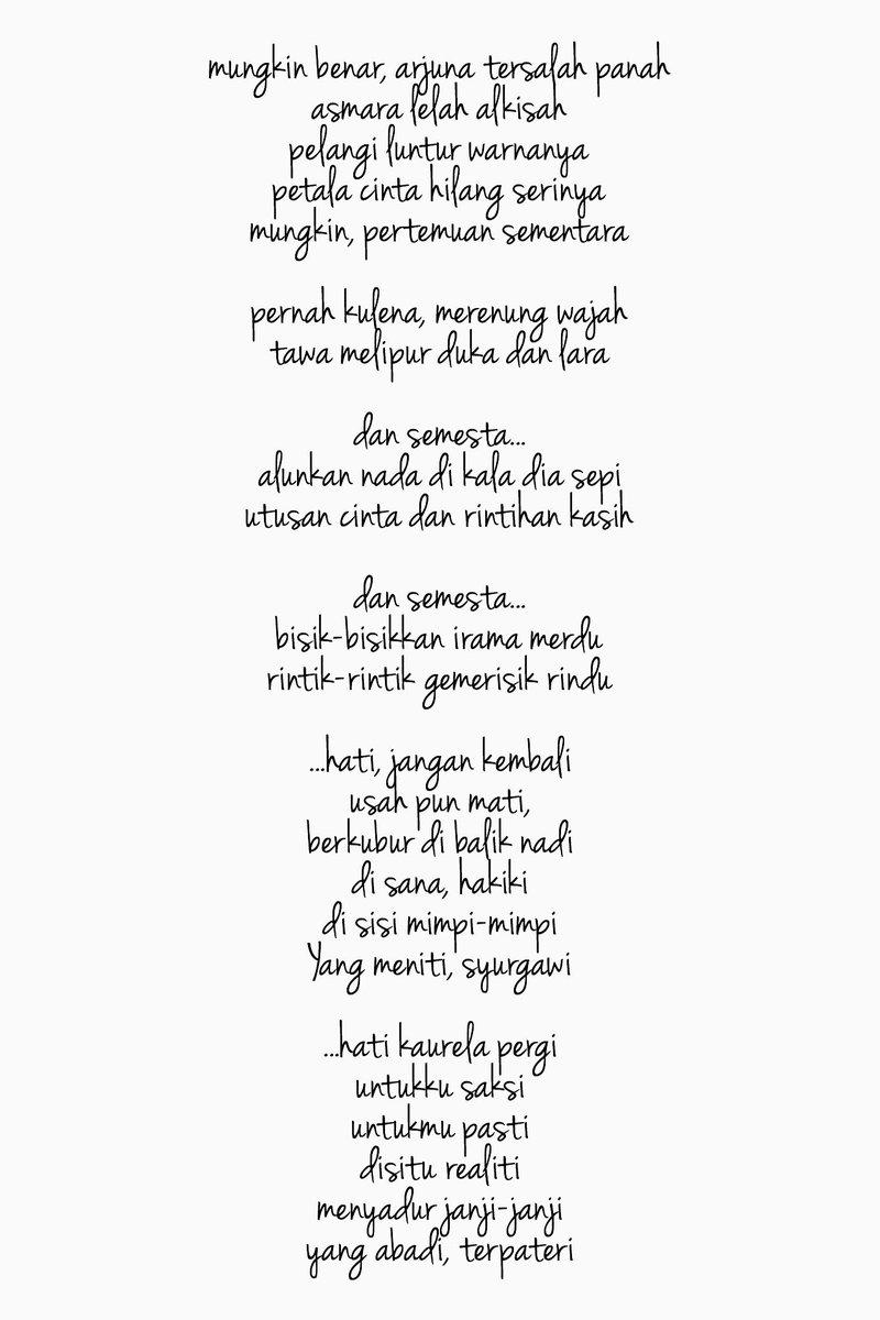 Pelangi Kasih Lirik : pelangi, kasih, lirik, Ramadhan, Siron, Twitter:,