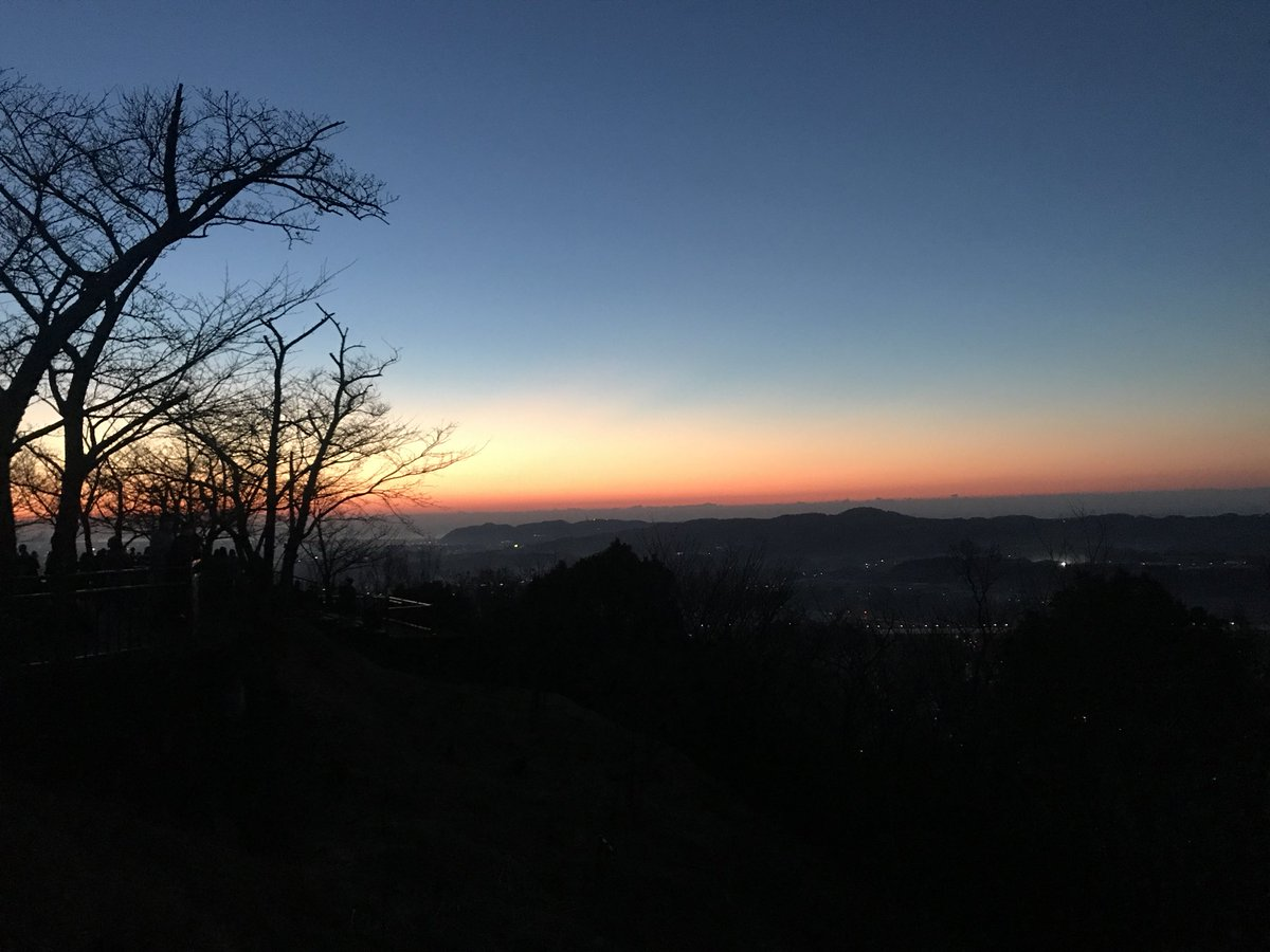 test ツイッターメディア - おはようございます♪( ^^)v #GoodMorning  #good_day #初日の出 #秦野 #弘法山公園  #富士山 https://t.co/7Ay0gzS9N9