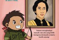 Gambar Karikatur Pahlawan Nasional