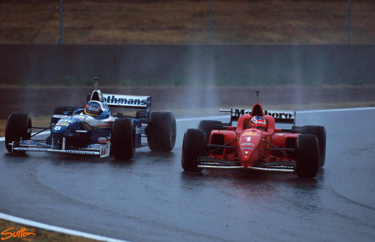 hight resolution of sutton images by motorsport images on twitter michael schumacher securing his first victory for scuderiaferrari at the 1996 spanish grand prix f1