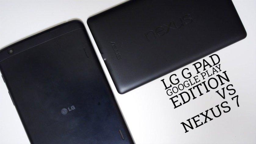 LG G Pad Google Play Edition vs Nexus7 https://t.co/jsd1xJEHug...