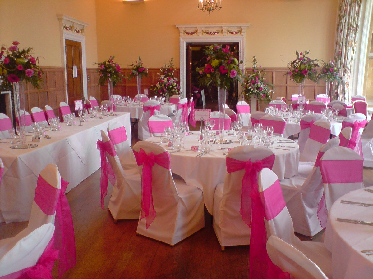 simply elegant chair covers and linens zero gravity recliner reviews uk hotpinkorganzasash hashtag on twitter this hot pink organza sash for from llc browse here https goo gl aswbu3 weddingchaircoverrental