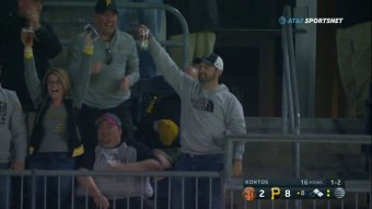 Pirates Fan Snags Our First Beer Foul Ball Of The 2018 Season