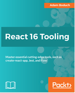 Available now from @PacktPub  #reactjs #tooling #javascript #book