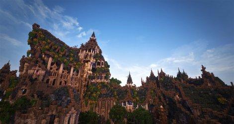 Minecraft Elven Builds 8