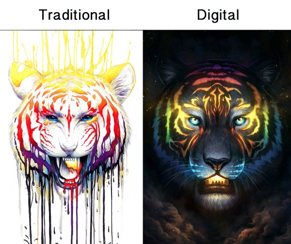 "Jonas Dicke Twitter ""traditional Art Digital"