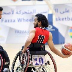Wheelchair Emirates Metal Kids Chairs نادي دبي لأصحاب الهمم On Twitter Turkey Beats United Arab 71 24 1st Day Competition 10th Fazza Basketball International Championships